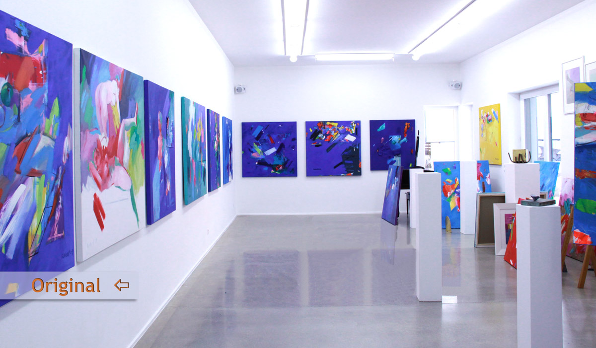 Galerie Rakel Retusche